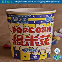 Seau à popcorn en impression haute performance