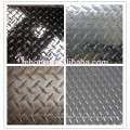 5-bar Aluminum Checker Plate Stucco laminated base material