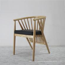 Modern Furniture Wooden Armrest Dining Chair