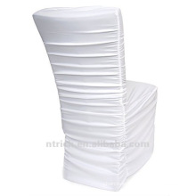 universal chair cover factory,CTS786,pleated style,200GSM best lycra fabric