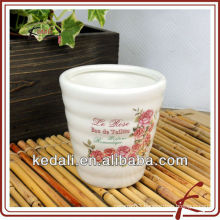 China Factory Home Decor Ceramic Porcelain Flower Vase Pot