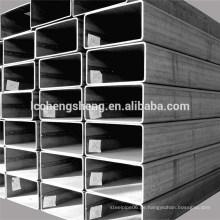 Quadratischen Stahlrohr gute Qualität Zinkmantel nahtlose quadratischen Rohr verzinkt Fabrik Preis