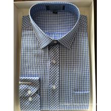 Cotton Yarn Dyed Fabric Business Shirt