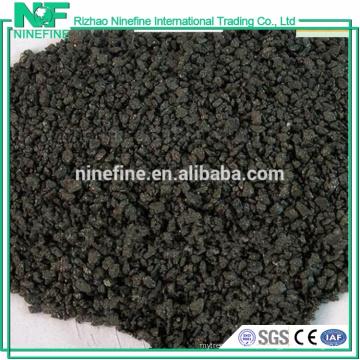 tamanhos de enxofre baixos 1-5mm grafite carbono raiser