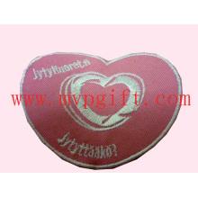 Patch de broderie coeur, patch Wovern en tissu (m-EP03)