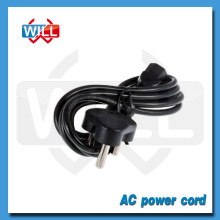 Cable de alimentación de Sudáfrica de la chaqueta 250V 16A del PVC de la alta calidad