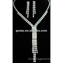 Latest bridal wedding jewelry set (GWJ12-435)