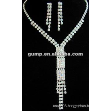 Latest bridal wedding jewelry set (GWJ12-435)