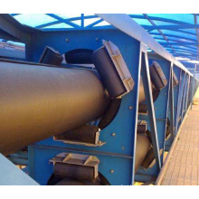 Ske Customized Well Made Hot Sale Large Conveying Capacity Heavy Duty Pipe Belt Conveyor
