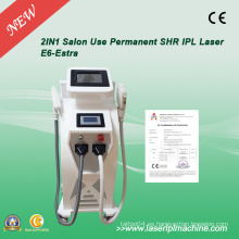 2 en 1 IPL Eligt Q-Switch ND Máquina de remoción Yaghair