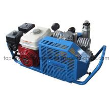 Compresor de alta presión del salto de la escafandra autónoma que comprime el compresor del Paintball (Ba-100p 5.5HP)
