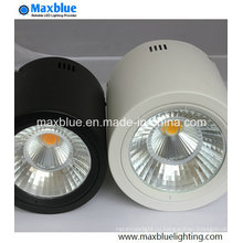 15W черный / белый Dimmble Open Mount светодиодный светильник
