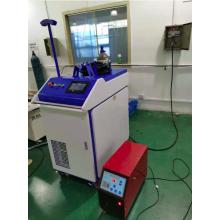 Hand-held integrated laser welding machine workbench