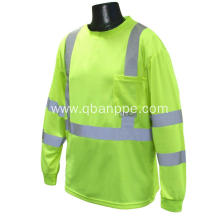 100% polyester high visibility polo shirt