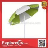Parasol Windproof Polyester solar beach umbrella
