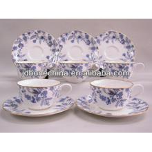 2014 новый продукт Китайский стильный королевский тонкой кости фарфора керамический 2шт 4шт 12шт 13шт 15шт турецкий чайный сервиз