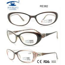 Woman Man Plastic Reading Glasses (RE382)