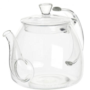 New Product for Glass Tea Kettle 40.8oz Borosilicate Glass Thermal Teapot supply to French Polynesia Factory