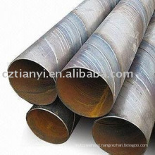 Black SSAW Welded steel pipe
