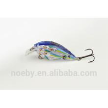 NOEBY fishing equipment VMC hook plastic 3D lure fishing wobber