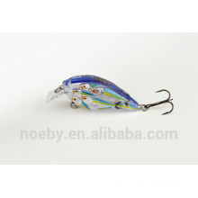 NOEBY equipamentos de pesca VMC gancho de plástico 3D isca wobber pesca