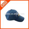 Bordado, padrão, estilo, azul, costume, curvado, basebol, boné