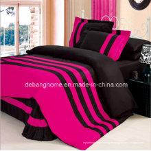 El edredón al por mayor fija el sistema de ropa de cama del algodón de la ropa de cama