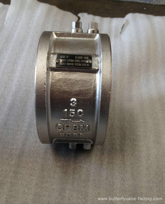 SS Metal Seat Wafer Check Valve