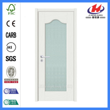 *JHK-G04 Double Glass Door Glass Interior Door Frosted Glass Bathroom Door Cabinet