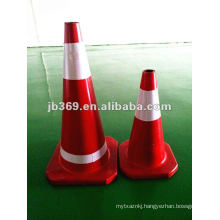 RUBBER ROAD SAFETY TRAFFIC CONE
