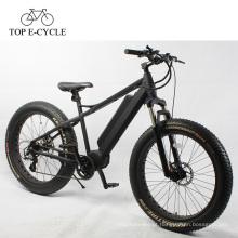 Bicicleta de gordura elétrica 750 w mid drive motor 26 polegada china bicicleta elétrica e bicicleta