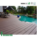 Precio competitivo varios colores Anti UV madera compuesto decking decking