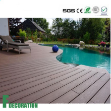 Competitive Price Various Colors Anti UV Wood Plastic Composite Deck