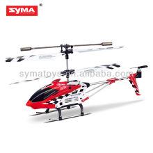 SYMA S107N helicóptero de metal infrarrojo mini tamaño de 3 canales con marco de metal y tapa de plástico