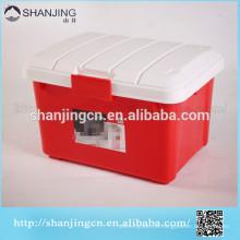 3L. Heavy Duty Caja de almacenamiento de plástico para coche