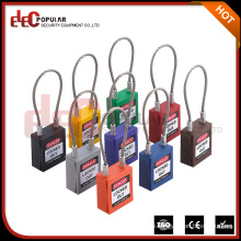 Elecpopular Neue China Produkte zum Verkauf Schöne kleine Kabelschloss / Drahtseilschloss