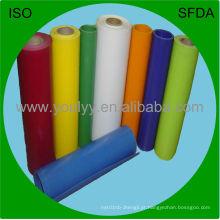 Filme de PVC colorido