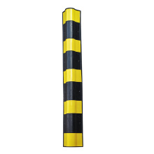 1000mm reflective rubber garage wall protector corner guard