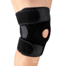 Medical neoprene knee brace/knee neoprene support/neoprene knee cap with hinge
