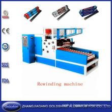 Machine de découpage de rouleau en aluminium Foil (GS-AF-600)