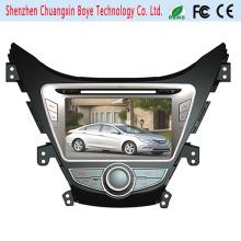Reproductor de DVD del coche de la ayuda del teléfono de Bluetooth para Hyundai Elantra 2012