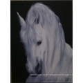 Ручная работа Современная картина маслом лошади на холсте для украшения стены (AN-002)