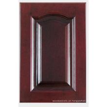 Porta de armário de cozinha de madeira sólida (HLsw-6)