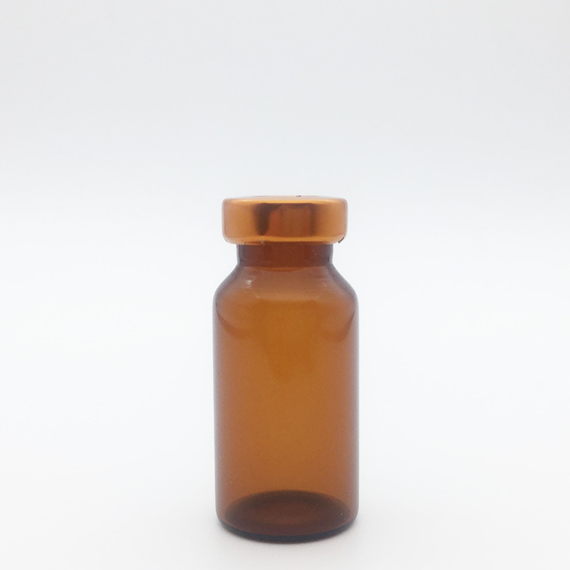 10ml Amber Sterile Serum Vials Orange