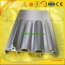 Perfiles de extrusión de aluminio de cepillado para molduras de esquina de aluminio