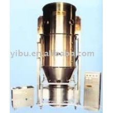 Granulador de Secagem por Pulverização usado em grânulos de cápsulas