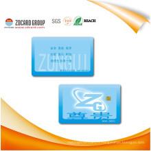 Cartes imprimées par usine de Cr80 30mil PVC