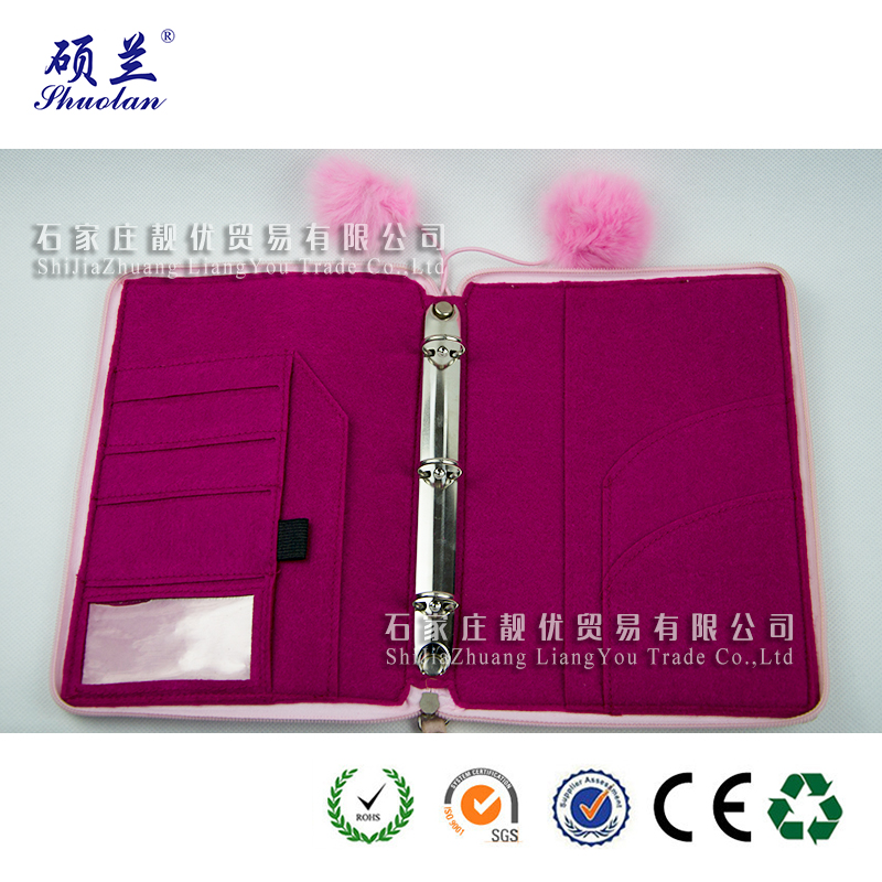 Hot Selling Felt Notebook Cover
