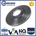 E7GZ1125B B10733251 Disco de freno ventilado para automóvil con 4 agujeros Japaness, 238 mm
