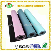 Anti Slip PU tapete de yoga, Eco Rubber Yoga Mat